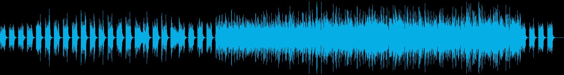 中世風のギター生演奏:太古の森の再生済みの波形