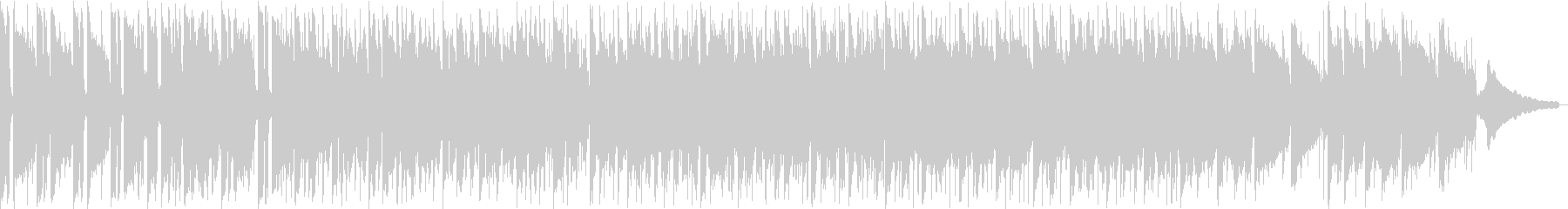シンセサイザーのリードが印象的なインストの未再生の波形