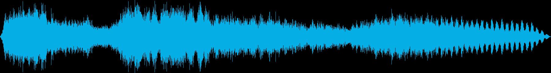 ダーク・サウンドスケイプ 09 闇の雨の再生済みの波形