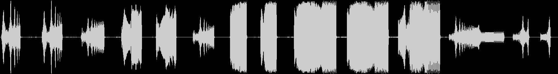 トーンベーススウェルレゾナンスの未再生の波形