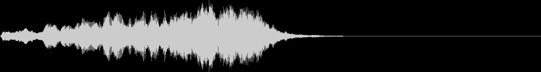 ボーイソプラノ8 アート芸術聖歌 8秒の未再生の波形