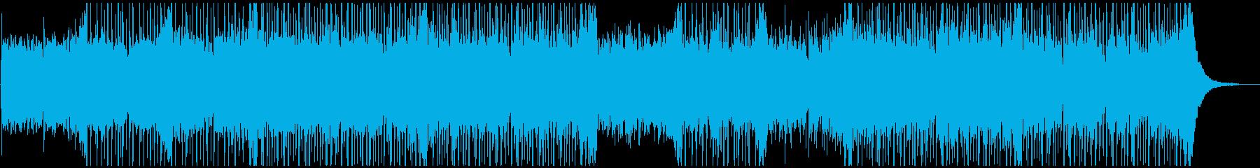 落ち着いたアンビエントエレクトロニカの再生済みの波形