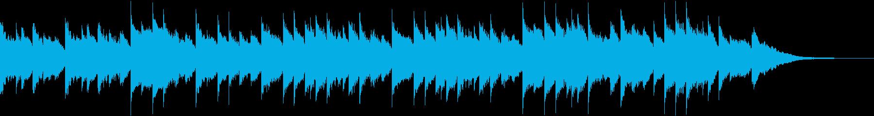 クリスマス 木琴 ハープ マリンバ...の再生済みの波形