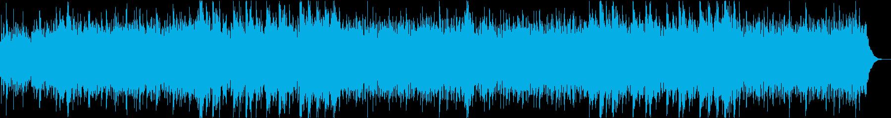 クリーンなイメージのコーポレートvr2の再生済みの波形
