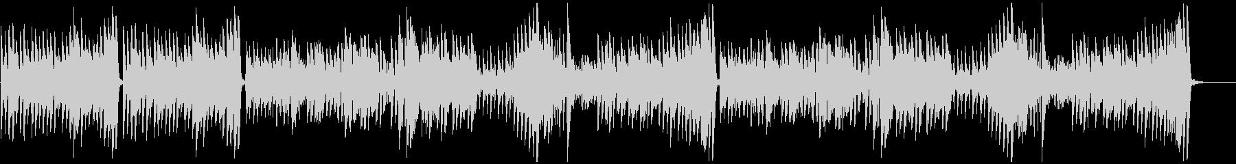 調理シーン等に最適のピアノソロ曲の未再生の波形
