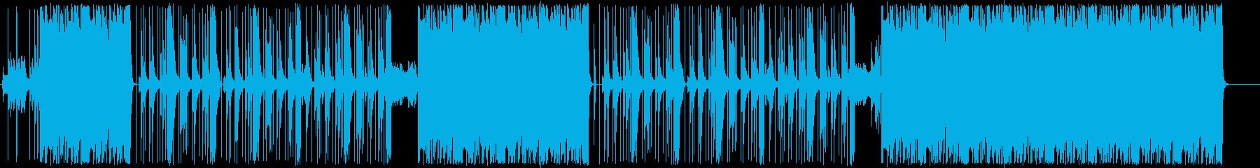 トラップ/808/ロングバス/#3の再生済みの波形