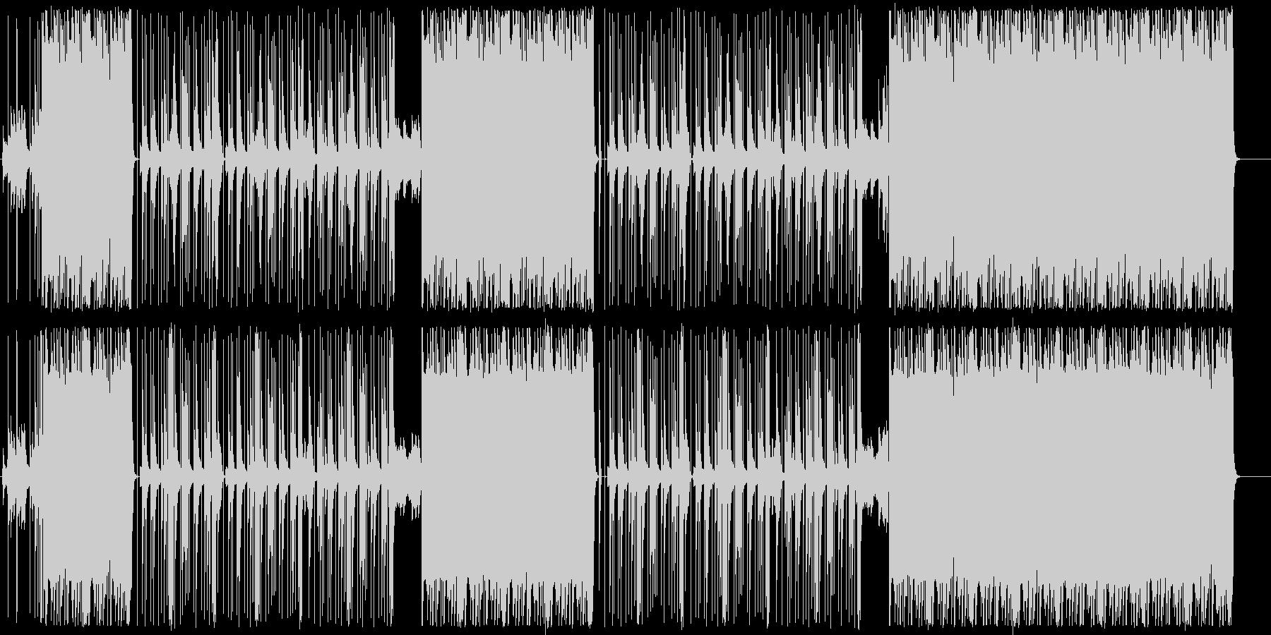トラップ/808/ロングバス/#3の未再生の波形
