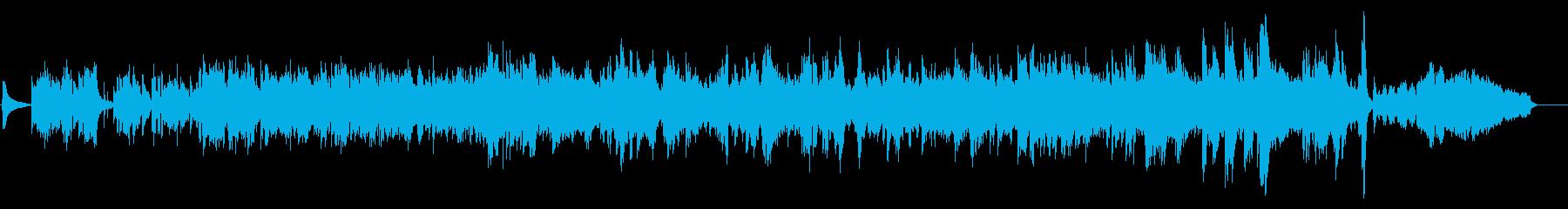 昔のフランス映画のテーマソング風作品の再生済みの波形