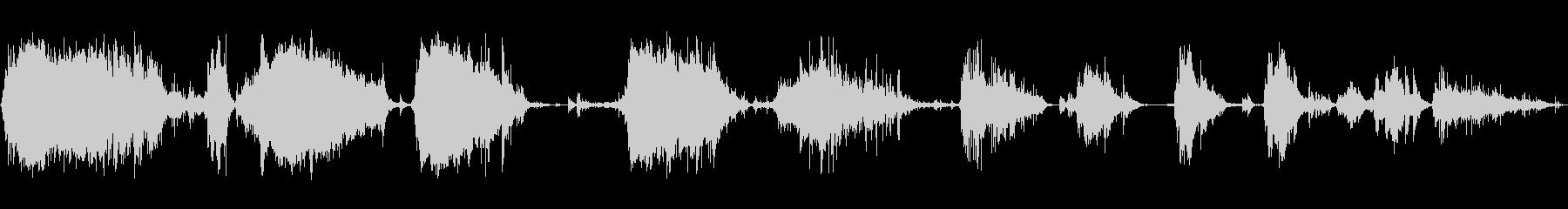 メタルデブリスクレープ4の未再生の波形