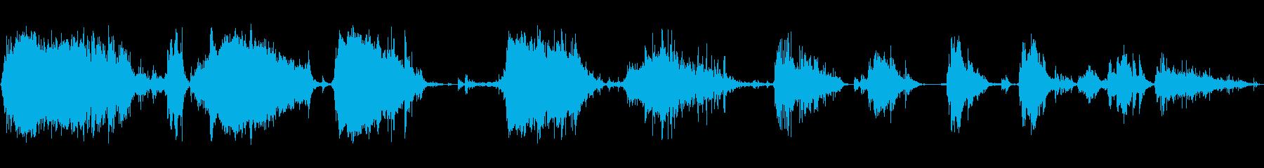 メタルデブリスクレープ4の再生済みの波形