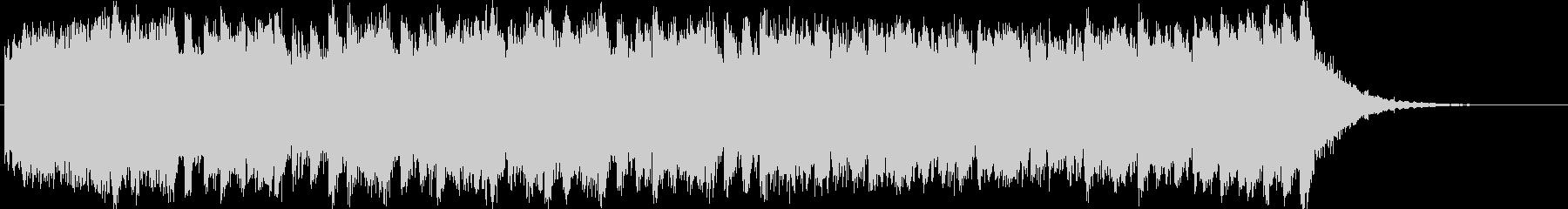 壮大で迫力あるフルオーケストラジングルの未再生の波形