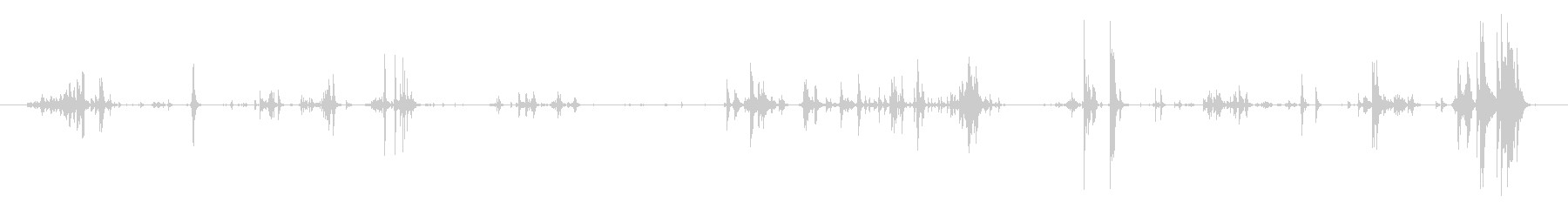 お金 コインビッグクラッターロング07の未再生の波形