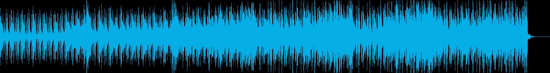 明るくのどかサイケ打込フリージャズSaxの再生済みの波形