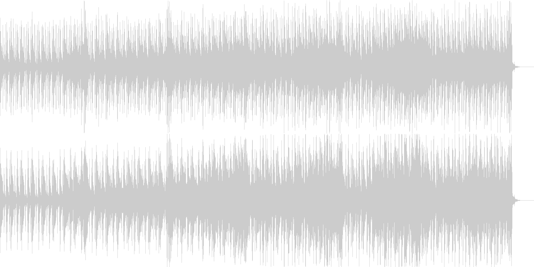 明るくのどかサイケ打込フリージャズSaxの未再生の波形