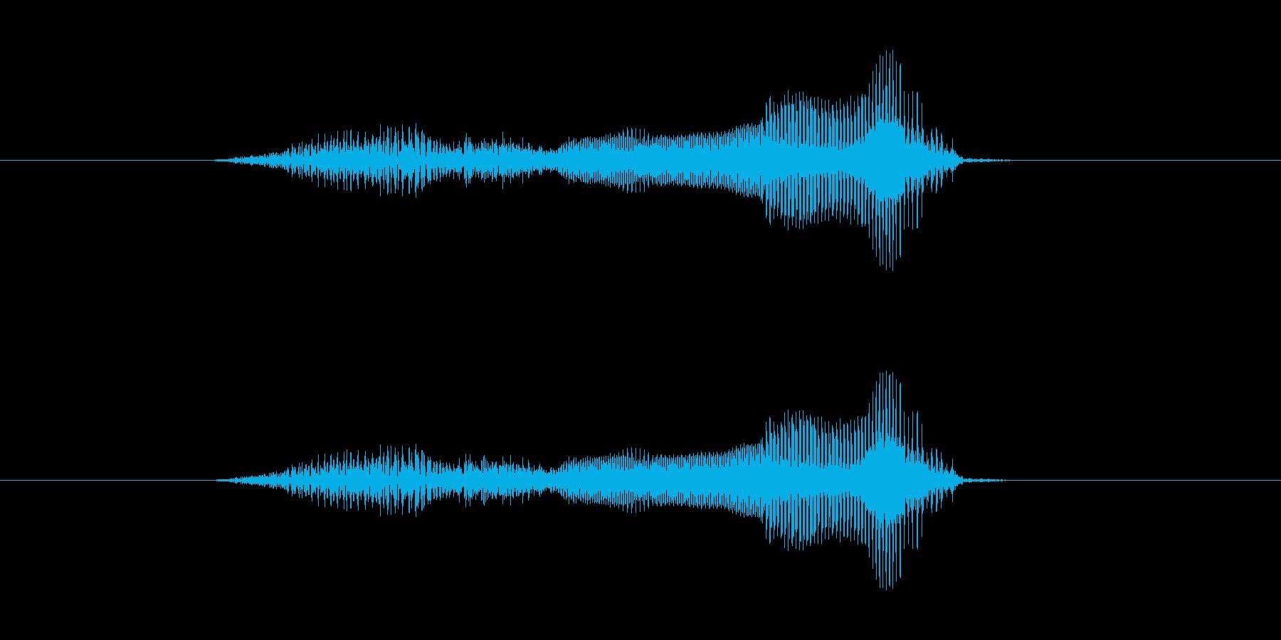 はじめ の再生済みの波形