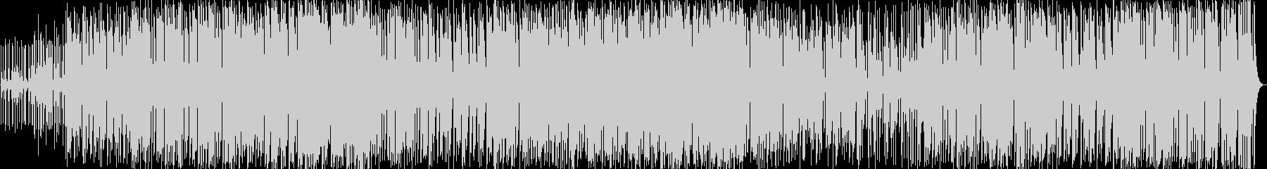 ファンク、の未再生の波形