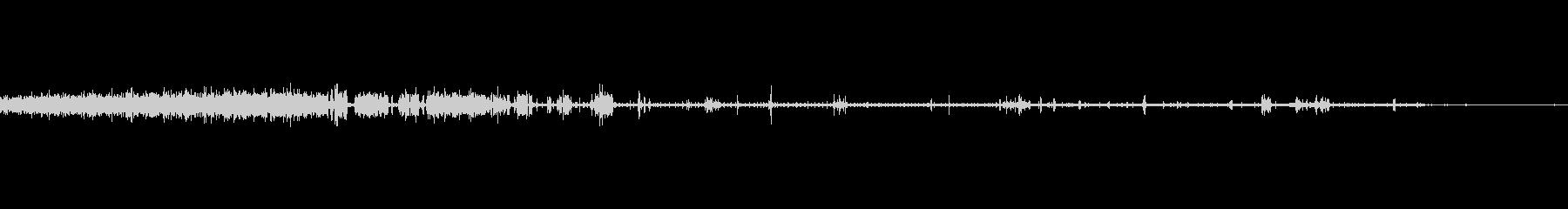 無線の静的、切断された接続の未再生の波形