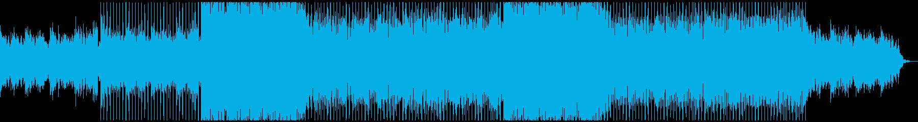 ギターのディレイが幻想的なプログレッシブの再生済みの波形