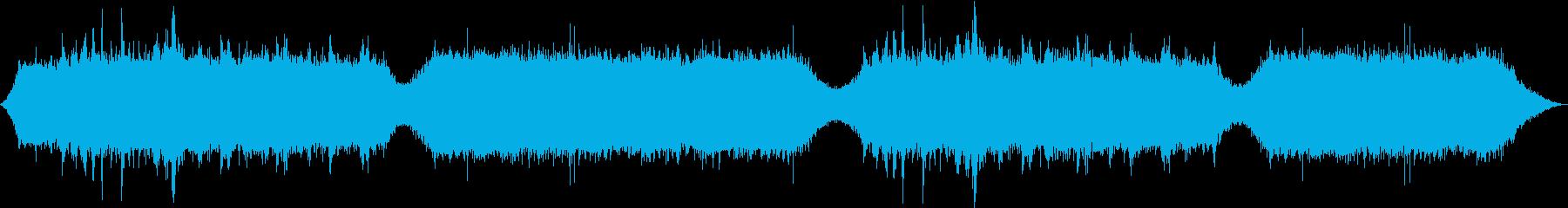 水の音、虫の音が日常のストレスを解消の再生済みの波形