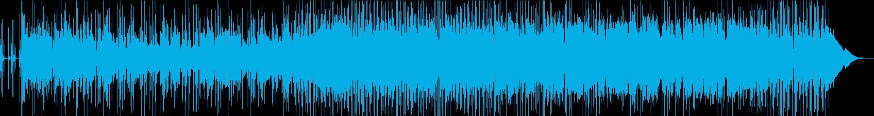 EDMアレンジのアジアンポップの再生済みの波形