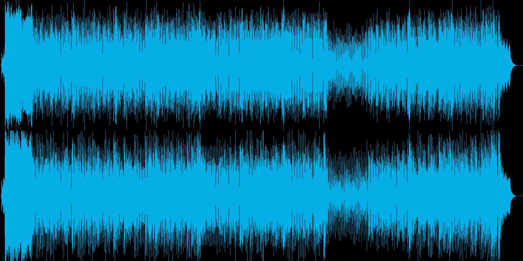 高級感のあるアップテンポなレゲエの再生済みの波形