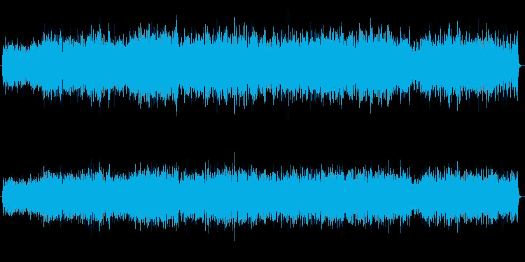 リラックス・睡眠・瞑想用BGMの再生済みの波形