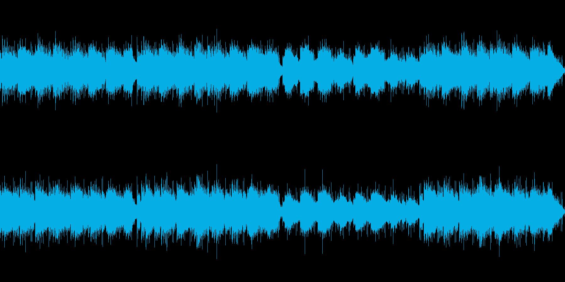 オカリナとアコギのゆったり日常BGMの再生済みの波形