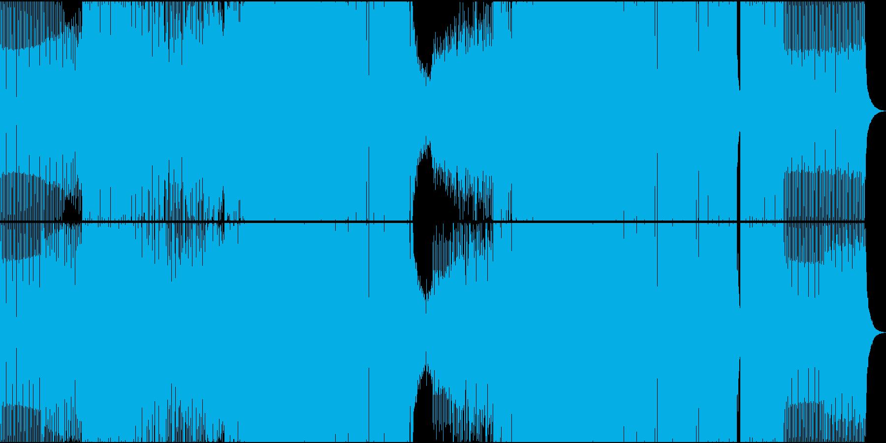 ブリリアント、パワフル、ブロード。...の再生済みの波形