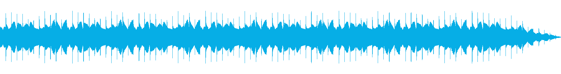 パラノイアベッドの再生済みの波形