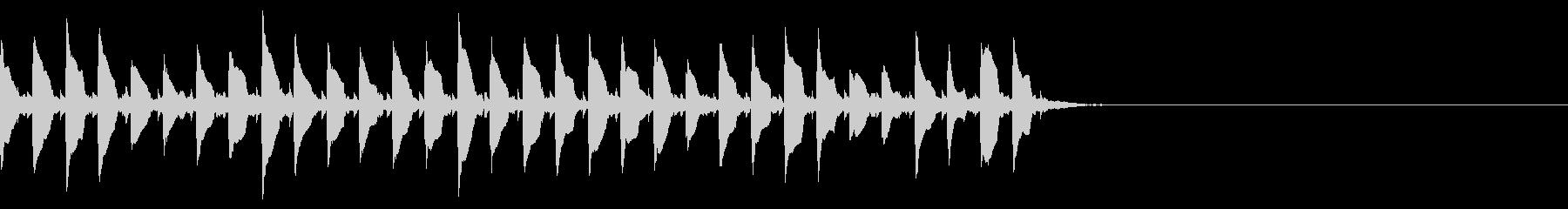 (話す、テキスト表示)長めA04の未再生の波形