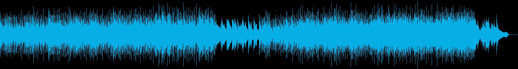 シックで落ち着いた雰囲気の曲の再生済みの波形