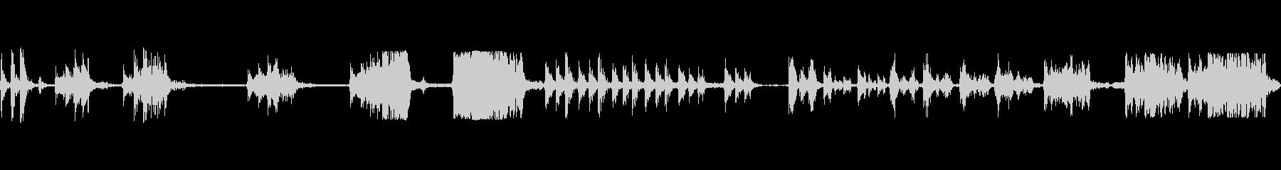 ロケットアフターバーナー火ar音フロリダの未再生の波形