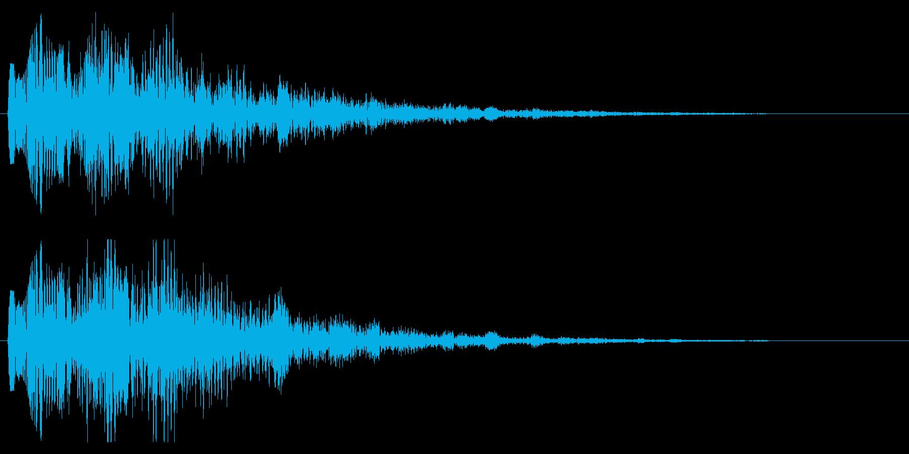 魔法音 魔法ダメージ パワーダウン 闇の再生済みの波形