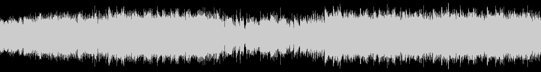 トロピカルで大人な夏のジャズ・ループの未再生の波形