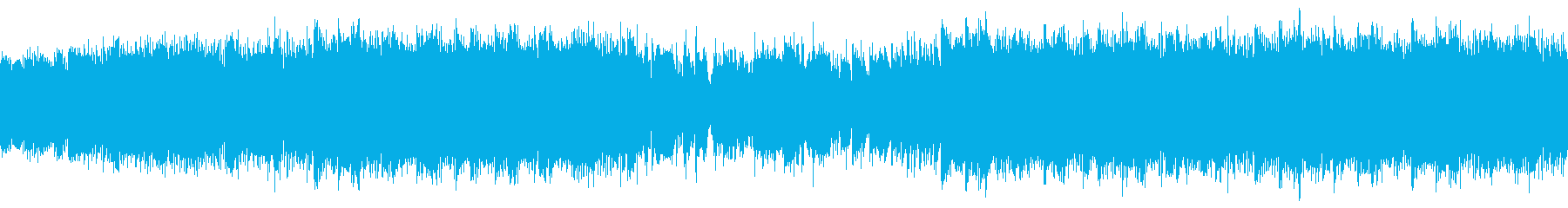 トロピカルで大人な夏のジャズ・ループの再生済みの波形