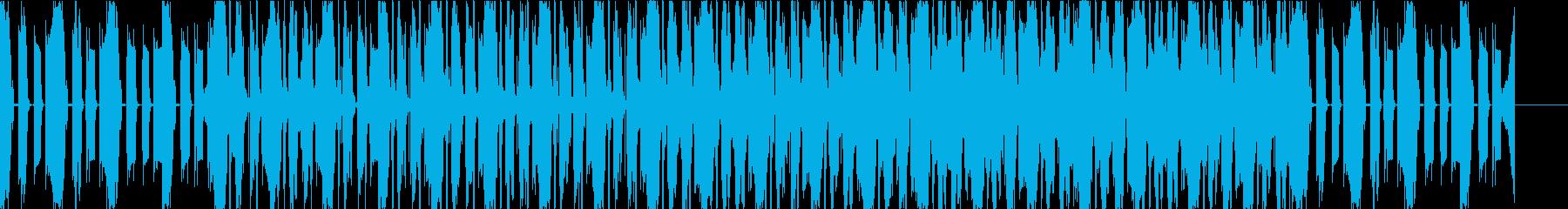 ファンキーグリッチのオーガニックトラップの再生済みの波形
