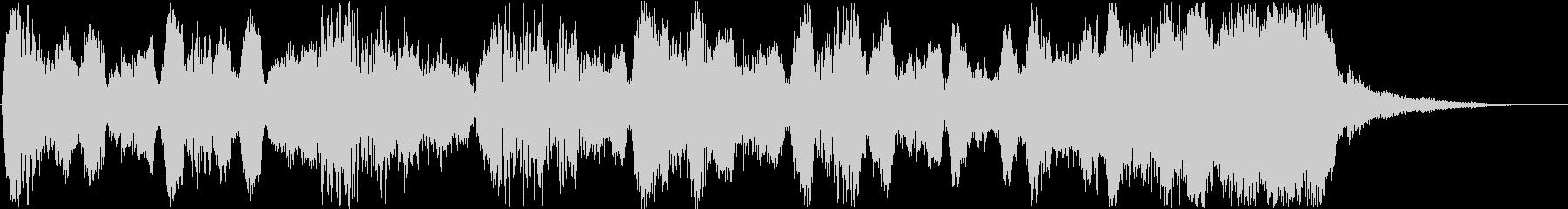 Flute-based jingle's unreproduced waveform