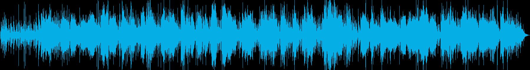 ムーディーでおしゃれなジャズバイオリンの再生済みの波形