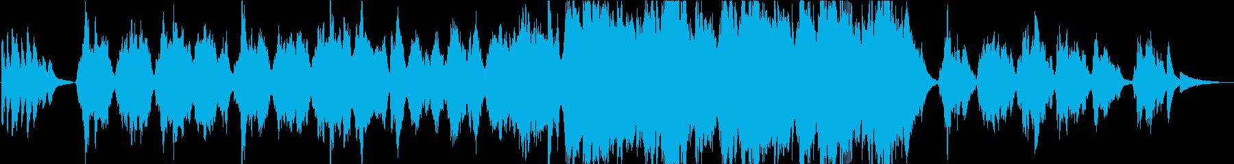 【生演奏】優しく穏やかなバイオリン曲の再生済みの波形