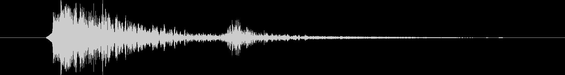 リボルバー クローズショット06の未再生の波形