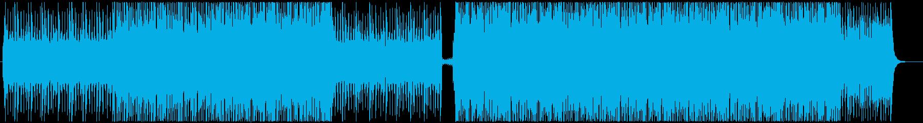 スタイリッシュなピアノのHip Hopの再生済みの波形