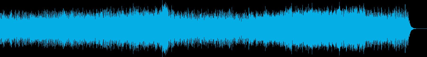 冬に似合う暖かなオルゴール調の音楽の再生済みの波形