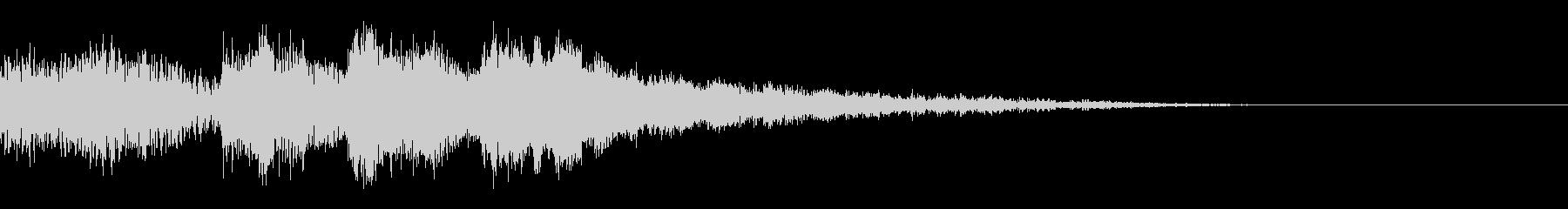 サウンドノベル02の未再生の波形