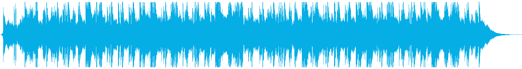 ミステリアスなピアノアンビエントの再生済みの波形