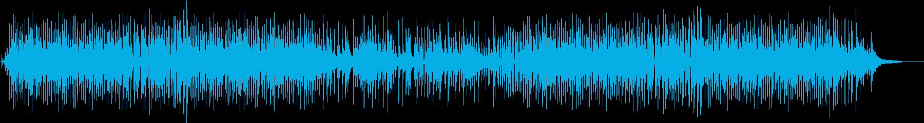 軽快な印象のジャズトリオの再生済みの波形
