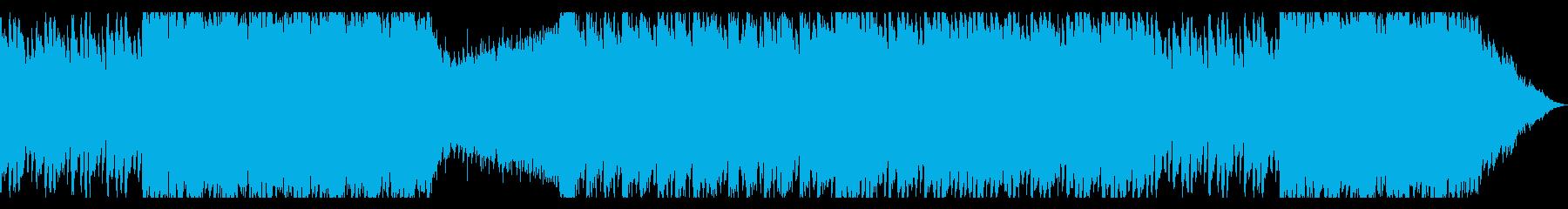 敵の要塞に突入するBGMの再生済みの波形