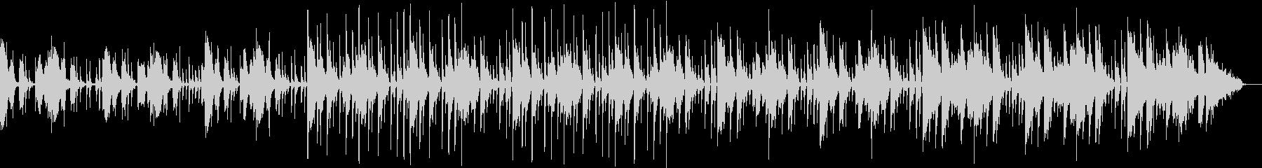 クイズ番組の考え中・・・のような音の未再生の波形
