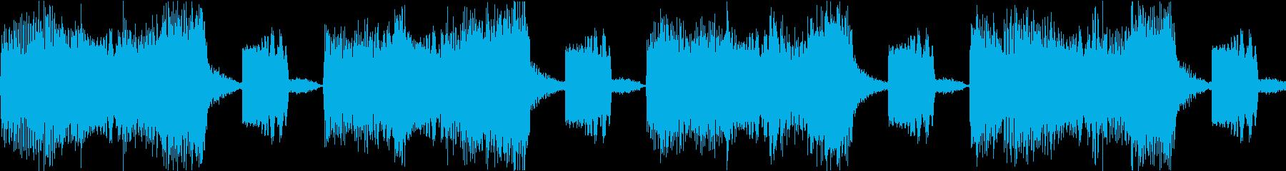 サイレン siren 警報 アラート 9の再生済みの波形