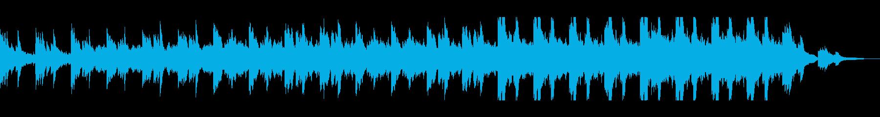 哀愁あるピアノ主旋律が印象的なバラードの再生済みの波形