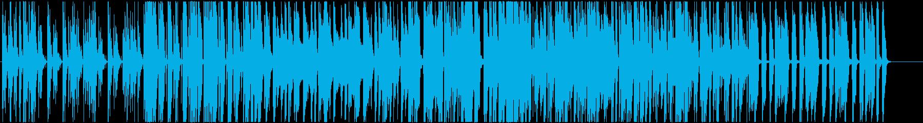 ストリングスとクラリネットのかわいい曲の再生済みの波形